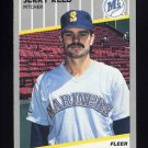 1989 Fleer Baseball #557 Jerry Reed - Seattle Mariners
