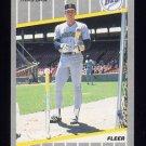 1989 Fleer Baseball #555 Jim Presley - Seattle Mariners