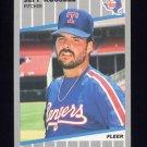1989 Fleer Baseball #531 Jeff Russell - Texas Rangers