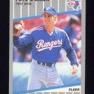 1989 Fleer Baseball #529 Pete O'Brien - Texas Rangers