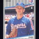 1989 Fleer Baseball #521 Ray Hayward - Texas Rangers