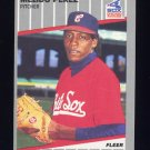 1989 Fleer Baseball #509 Melido Perez - Chicago White Sox