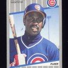 1989 Fleer Baseball #424 Shawon Dunston - Chicago Cubs