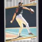 1989 Fleer Baseball #314 Dennis Rasmussen - San Diego Padres