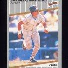 1989 Fleer Baseball #311 Carmelo Martinez - San Diego Padres