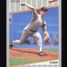 1989 Fleer Baseball #308 Jimmy Jones - San Diego Padres
