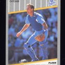 1989 Fleer Baseball #290 Jamie Quirk - Kansas City Royals