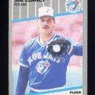 1989 Fleer Baseball #229 Jim Clancy - Toronto Blue Jays
