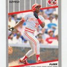 1989 Fleer Baseball #175 Herm Winningham - Cincinnati Reds