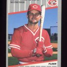 1989 Fleer Baseball #173B Jeff Treadway - Cincinnati Reds