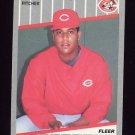 1989 Fleer Baseball #171 Candy Sierra - Cincinnati Reds