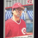1989 Fleer Baseball #167 Jeff Reed - Cincinnati Reds