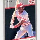1989 Fleer Baseball #158 Eric Davis - Cincinnati Reds