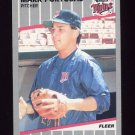 1989 Fleer Baseball #123 Mark Portugal - Minnesota Twins