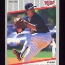 1989 Fleer Baseball #104 Juan Berenguer - Minnesota Twins