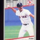 1989 Fleer Baseball #096 Jody Reed - Boston Red Sox