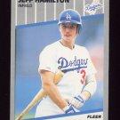 1989 Fleer Baseball #060 Jeff Hamilton - Los Angeles Dodgers