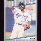 1989 Fleer Baseball #058 Alfredo Griffin - Los Angeles Dodgers