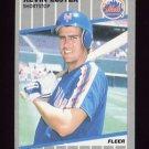 1989 Fleer Baseball #034 Kevin Elster - New York Mets
