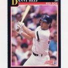 1991 Score Baseball #827 Danny Heep - Boston Red Sox