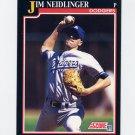 1991 Score Baseball #794 Jim Neidlinger RC - Los Angeles Dodgers