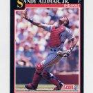1991 Score Baseball #793 Sandy Alomar Jr. - Cleveland Indians