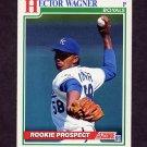1991 Score Baseball #730 Hector Wagner RC - Kansas City Royals
