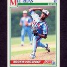 1991 Score Baseball #729 Mel Rojas - Montreal Expos
