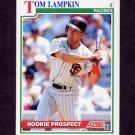 1991 Score Baseball #720 Tom Lampkin - San Diego Padres