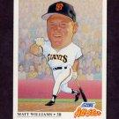 1991 Score Baseball #667 Matt Williams AS - San Francisco Giants