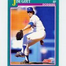1991 Score Baseball #621 Jim Gott - Los Angeles Dodgers