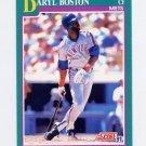 1991 Score Baseball #618 Daryl Boston - New York Mets
