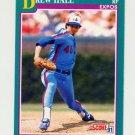 1991 Score Baseball #581 Drew Hall - Montreal Expos