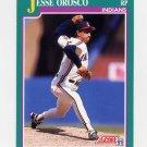 1991 Score Baseball #578 Jesse Orosco - Cleveland Indians