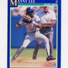 1991 Score Baseball #534 Manny Lee - Toronto Blue Jays