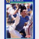 1991 Score Baseball #520 Mike Scioscia - Los Angeles Dodgers ExMt