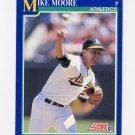 1991 Score Baseball #516 Mike Moore - Oakland A's