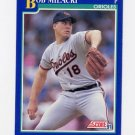 1991 Score Baseball #512 Bob Milacki - Baltimore Orioles