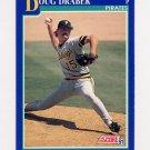 1991 Score Baseball #472 Doug Drabek - Pittsburgh Pirates