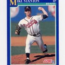 1991 Score Baseball #468 Mike Stanton - Atlanta Braves