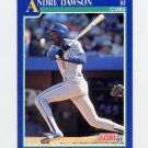 1991 Score Baseball #445 Andre Dawson - Chicago Cubs