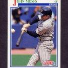 1991 Score Baseball #429 John Moses - Minnesota Twins