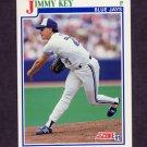 1991 Score Baseball #422 Jimmy Key - Toronto Blue Jays