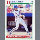 1991 Score Baseball #368 Darren Reed - New York Mets ExMt