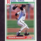 1991 Score Baseball #366 Rafael Novoa RC - San Francisco Giants
