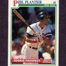 1991 Score Baseball #348 Phil Plantier RC - Boston Red Sox