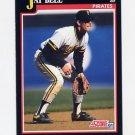 1991 Score Baseball #323 Jay Bell - Pittsburgh Pirates