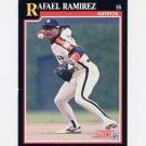 1991 Score Baseball #305 Rafael Ramirez - Houston Astros