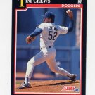 1991 Score Baseball #302 Tim Crews - Los Angeles Dodgers