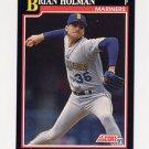 1991 Score Baseball #285 Brian Holman - Seattle Mariners